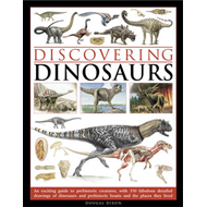 Discovering Dinosaurs: An Exciting Guide to Prehistoric Creatures, with 350 Fabulous Detailed Drawin (BOK)