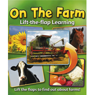 Lift-the-flap Learning: On the Farm (BOK)