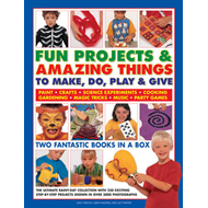 Fun Projects & Amazing Things to Make, Do, Play & Give: Two Fantastic Books in a Box: the Ultimate R (BOK)