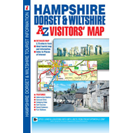 Hampshire, Dorset and Wiltshire Visitors' Map (BOK)
