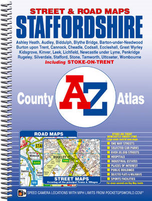 Staffordshire County Atlas (BOK)