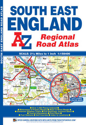 South East England Regional Road Atlas (BOK)
