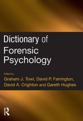 Dictionary of Forensic Psychology (BOK)