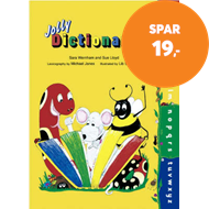 Produktbilde for Jolly Dictionary - In Precursive Letters (British English edition) (BOK)