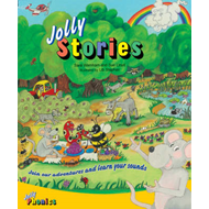 Produktbilde for Jolly Stories - In Precursive Letters (British English edition) (BOK)