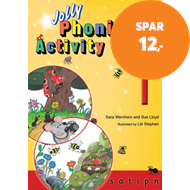 Produktbilde for Jolly Phonics Activity Book 1 - in Precursive Letters (British English edition) (BOK)