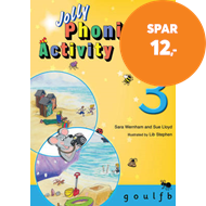 Produktbilde for Jolly Phonics Activity Book 3 - in Precursive Letters (British English edition) (BOK)