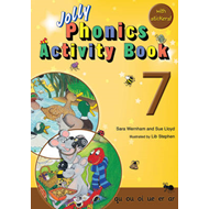Produktbilde for Jolly Phonics Activity Book 7 - In Precursive Letters (British English edition) (BOK)