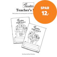Produktbilde for Jolly Phonics Teacher's Book - in Precursive Letters (British English edition) (BOK)