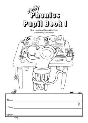 Jolly Phonics Pupil Book 1 (black & white edition) (BOK)