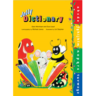 Jolly Dictionary (Hardback edition in print letters) (BOK)