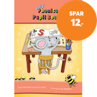 Produktbilde for Jolly Phonics Pupil Book 1 - in Print Letters (British English edition) (BOK)