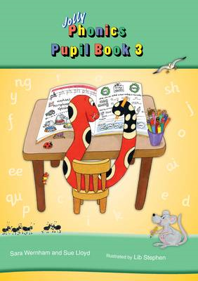 Jolly Phonics Pupil Book 3 (colour edition) (BOK)