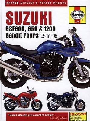Suzuki GSF600, 650 and 1200 Bandit Service and Repair Manual: 1995 to 2006 (BOK)