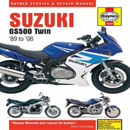 Suzuki GS500 Twin Service and Repair Manual: 1989 to 2008 (BOK)