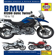 BMW R1200 Dohc Air-cooled Service and Repair Manual (BOK)