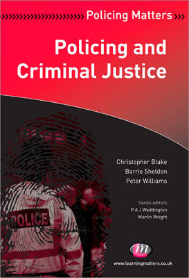 Policing and Criminal Justice (BOK)