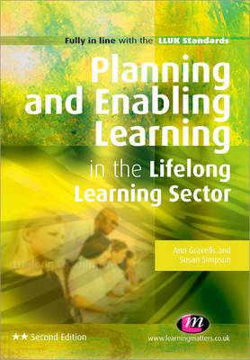 Planning and Enabling Learning in the Lifelong Learning Sect (BOK)