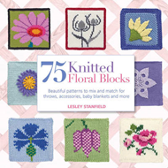 75 Knitted Floral Blocks (BOK)