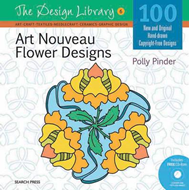 Art Nouveau Flower Designs (BOK)