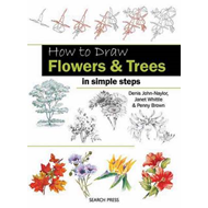 How to Draw Flowers & Trees: in Simple Steps (BOK)