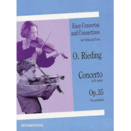 Easy Concertos and Concertinos for Violin and Piano (BOK)