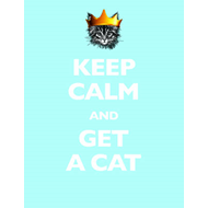 Keep Calm and Get a Cat (BOK)