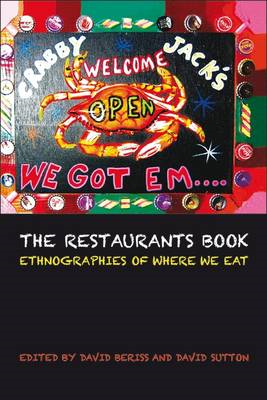 The Restaurants Book: Ethnographies of Where We Eat (BOK)
