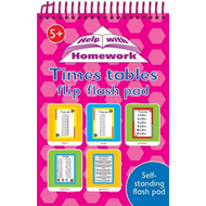 Flip Flash Pads Times Tables 3+ (BOK)