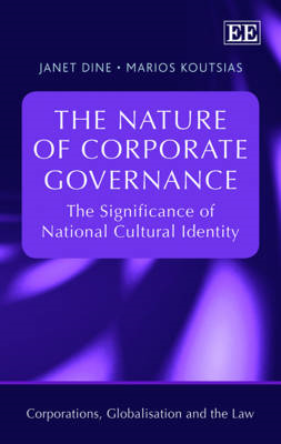 The Nature of Corporate Governance: The Significance of National Cultural Identity (BOK)