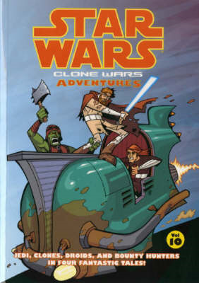 Star Wars - Clone Wars Adventures: v. 10 (BOK)