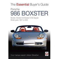 Porsche 986 Boxster: Boxster, Boxster S, Boxster S 550 Spyder: Model Years 1997 to 2005 (BOK)