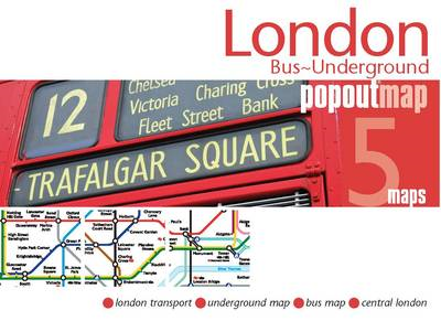 London Bus/underground PopOut Map (BOK)