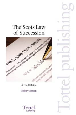 Scots Law of Succession (BOK)