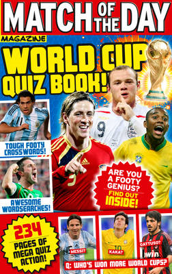 """Match of the Day"" World Cup Quiz Book (BOK)"
