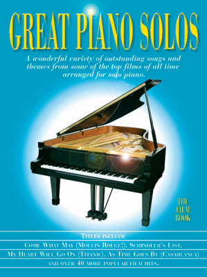 Great Piano Solos - The Film Book (BOK)
