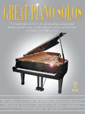 Great Piano Solos - The TV Book (BOK)
