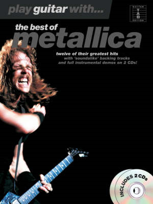 Play Guitar With... The Best Of Metallica (TAB) (BOK)