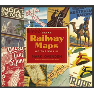Great Railway Maps of the World (BOK)