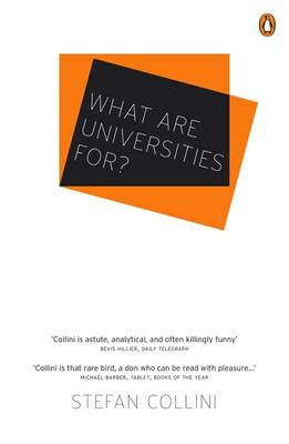 What are Universities For? (BOK)