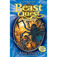 Beast Quest: Arachnid the King of Spiders (BOK)