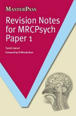 Revision Notes for MRCPsych Paper 1 (BOK)