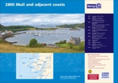 Imray Chart Pack 2800: Isle of Mull and Adjacent Coasts Chart Pack: 2013 (BOK)