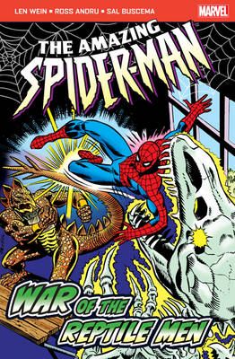 Amazing Spider-Man: War of the Reptile Men (BOK)