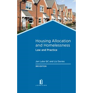 Housing Allocation and Homelessness: Law and Practice (BOK)