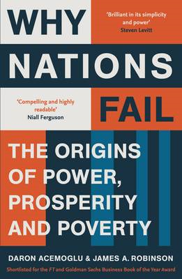 Why Nations Fail: The Origins of Power, Prosperity and Poverty (BOK)