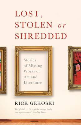 Lost, Stolen or Shredded (BOK)