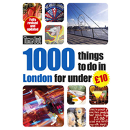 1000 Things to Do in London for Under Gbp10 (BOK)