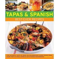 Tapas & Spanish Best-Ever Recipes (BOK)