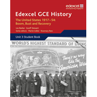 Edexcel GCE History A2 Unit 3 C2 The United States 1917-54: (BOK)